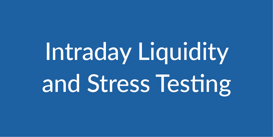 Intraday Liquidity and Stress Testing module
